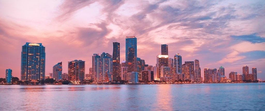 Diversity Summit Miami skyline