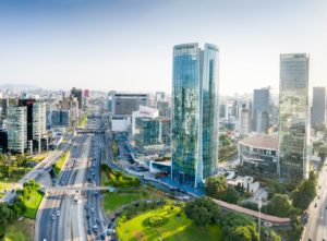Chambers Diversity awards - Sao Paulo skyline